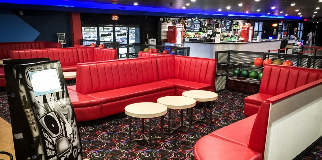 xtreme action park family entertainment center bowling interior design