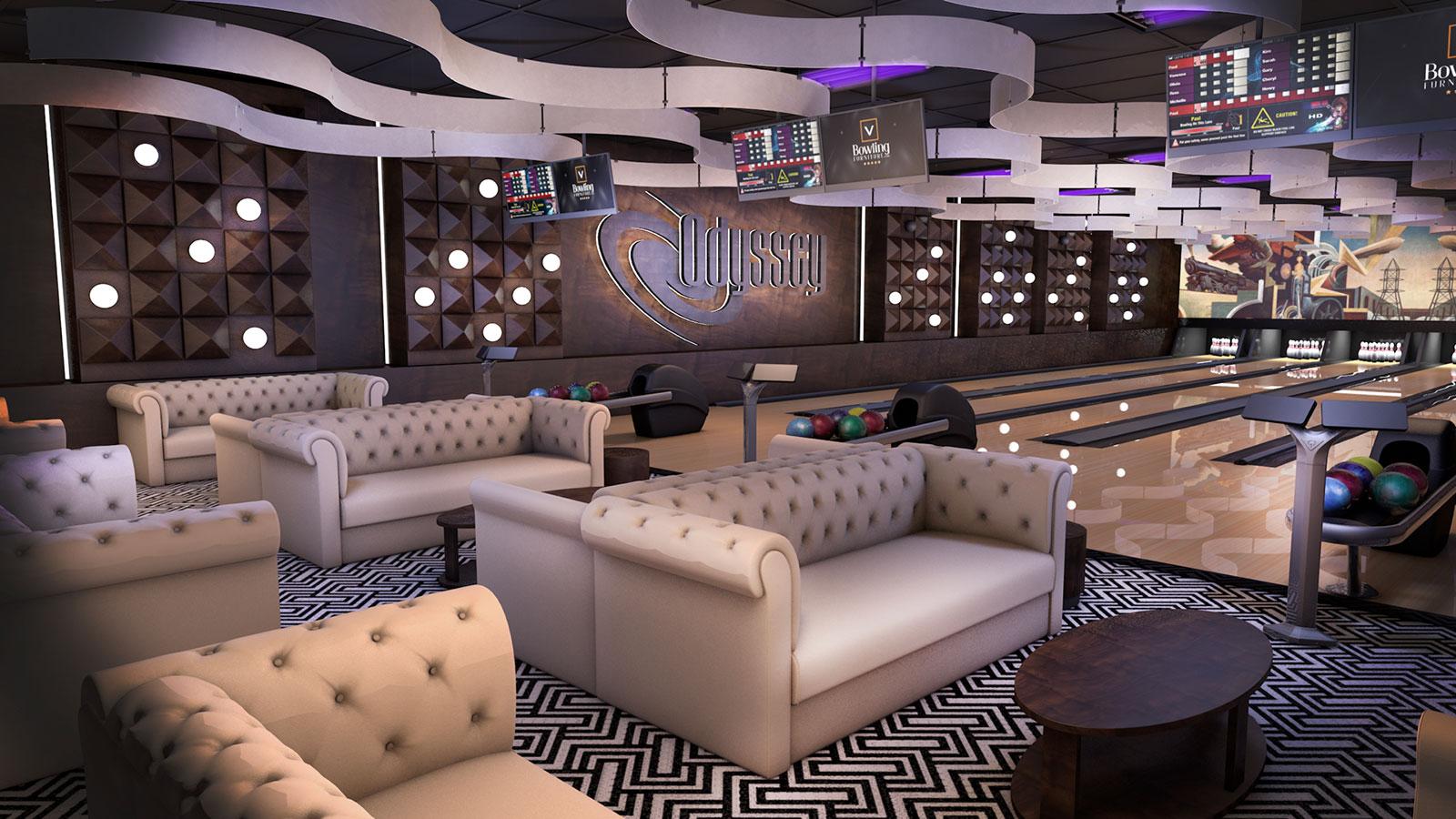 bowling center concept design