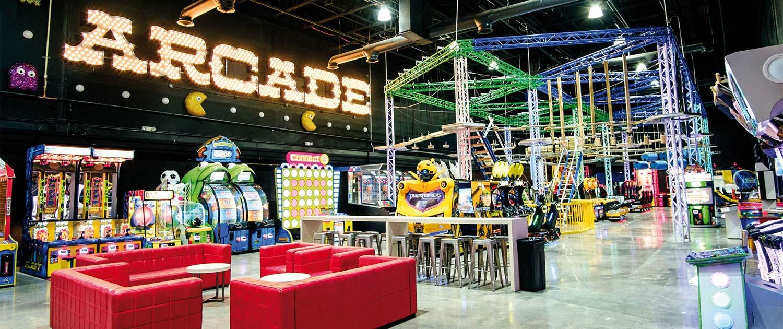 family entertainment center design