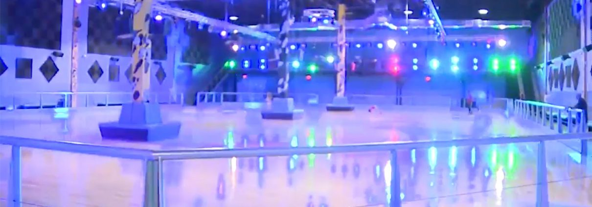 family entertainment skating rink design